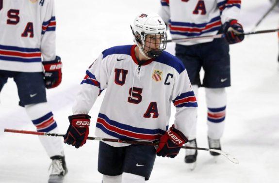 Team USA's Jack Hughes