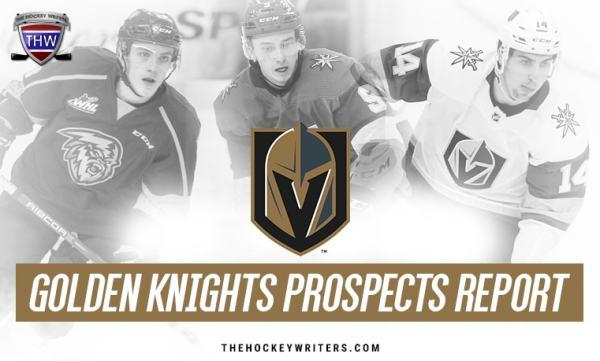 Vegas Golden Knights Prospect Report: Pavel Dorofeyev on the Rise