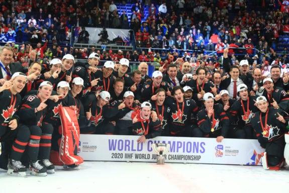 Team Canada, 2020 IIHF World Junior Championship
