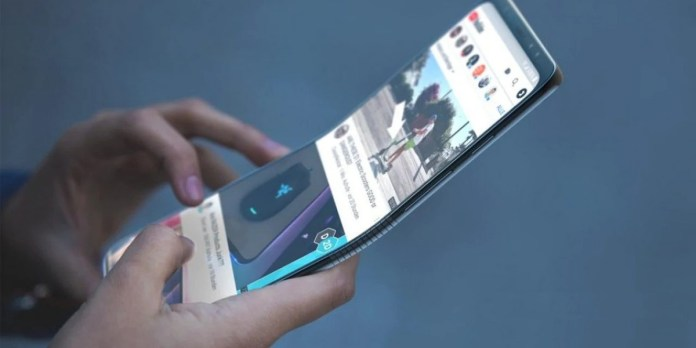 Samsung Teases Rollable Smartphone