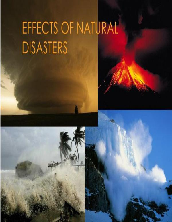 Natural Disasters and Their Effects 1 | Joomag Newsstand