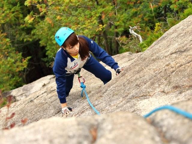 photo by 《本格ロッククライミング体験》 獅子岩1日コース ◆写真付(滋賀県・高島)|そとあそび