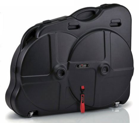 Protective case for transporting your bicycle on an airplane