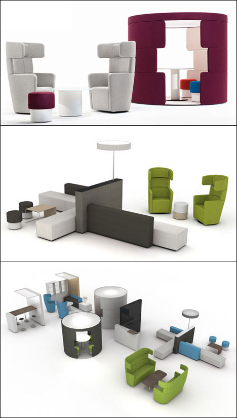 PARCS office furniture system,