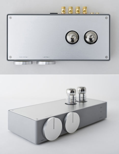 ultra-modern tube amplifier