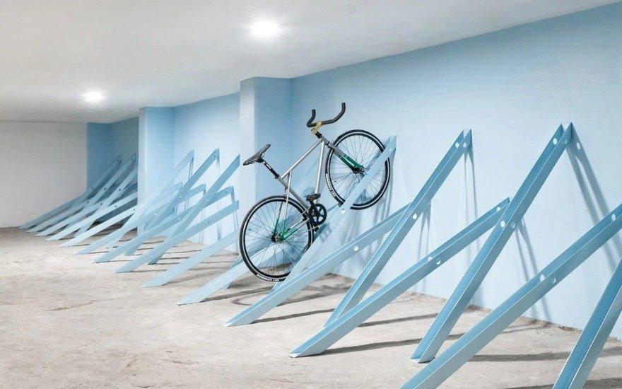 yea or nay the bici bike rack system