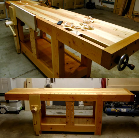 Ingenious Design Of The 18th Century Roubo Workbench Sees