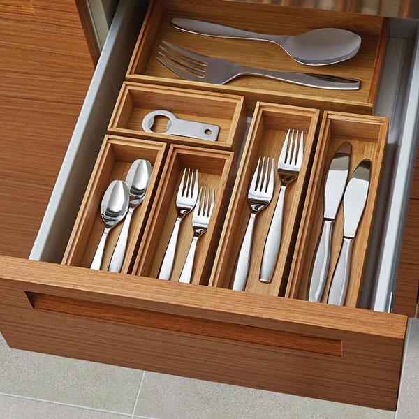 14 ways to organize the kitchen silverware drawer - core77