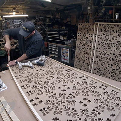 DiRestas Cut Hinged Butterfly Panel Room Dividers Core77