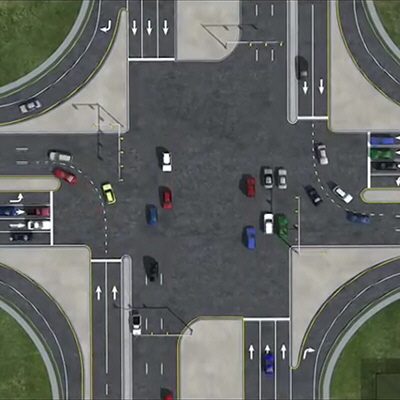 Alternative Road Design Heres How A Continuous Flow