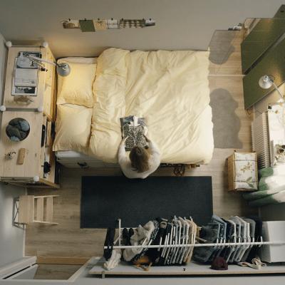 Tiny Space Living Ikeahacksfrom Ikea Core77