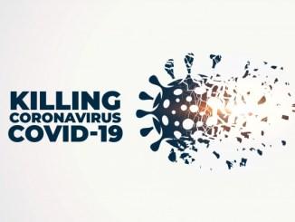 Tuer Detruire Coronavirus Covid 19 Concept Background 1017 24424