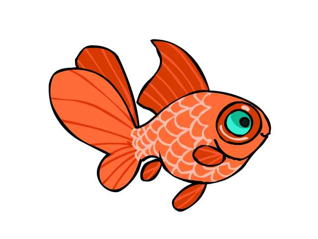 Image result for pictures of goldfish+cartoon