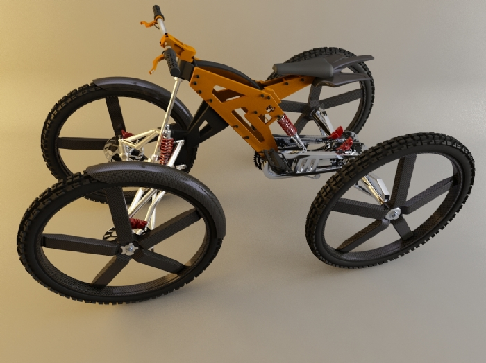 2 Wheel Wheel 4 Bicycle