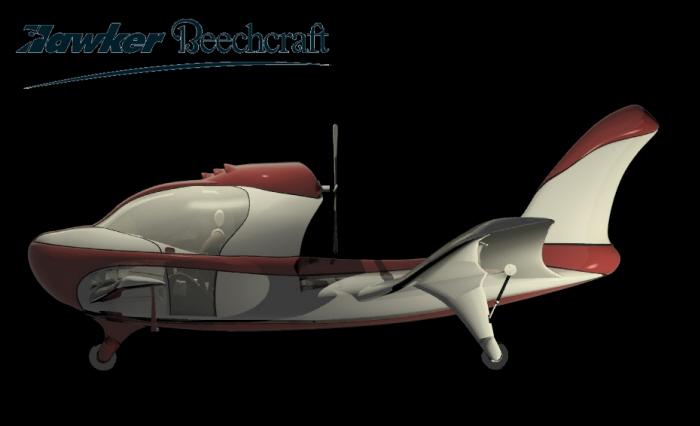 Hawker Beechraft Light Sport Aircraft By Matthew Palmer At