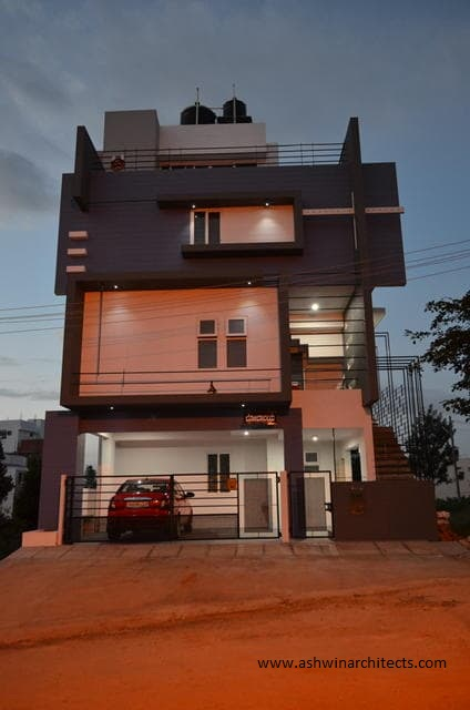 30x44 South Facing Site With 3 BHK Duplexes By Ashwin