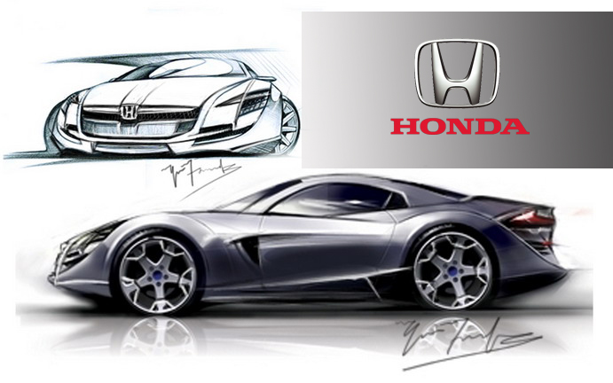 Concept Cars Rough Sketches By Yaser Farook At