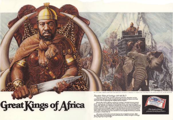 And Queens Budweiser Kings African
