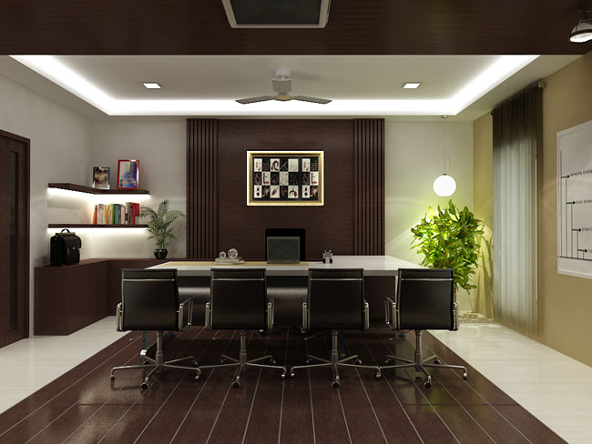 Chartered Accountant Office Interior Design
