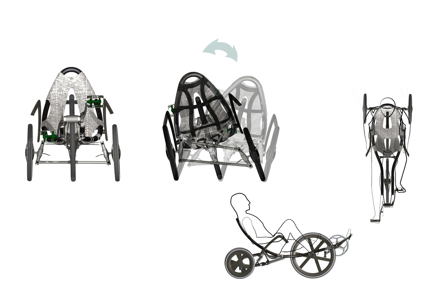 Recumbent Tricycle By Ionut Predescu At Coroflot