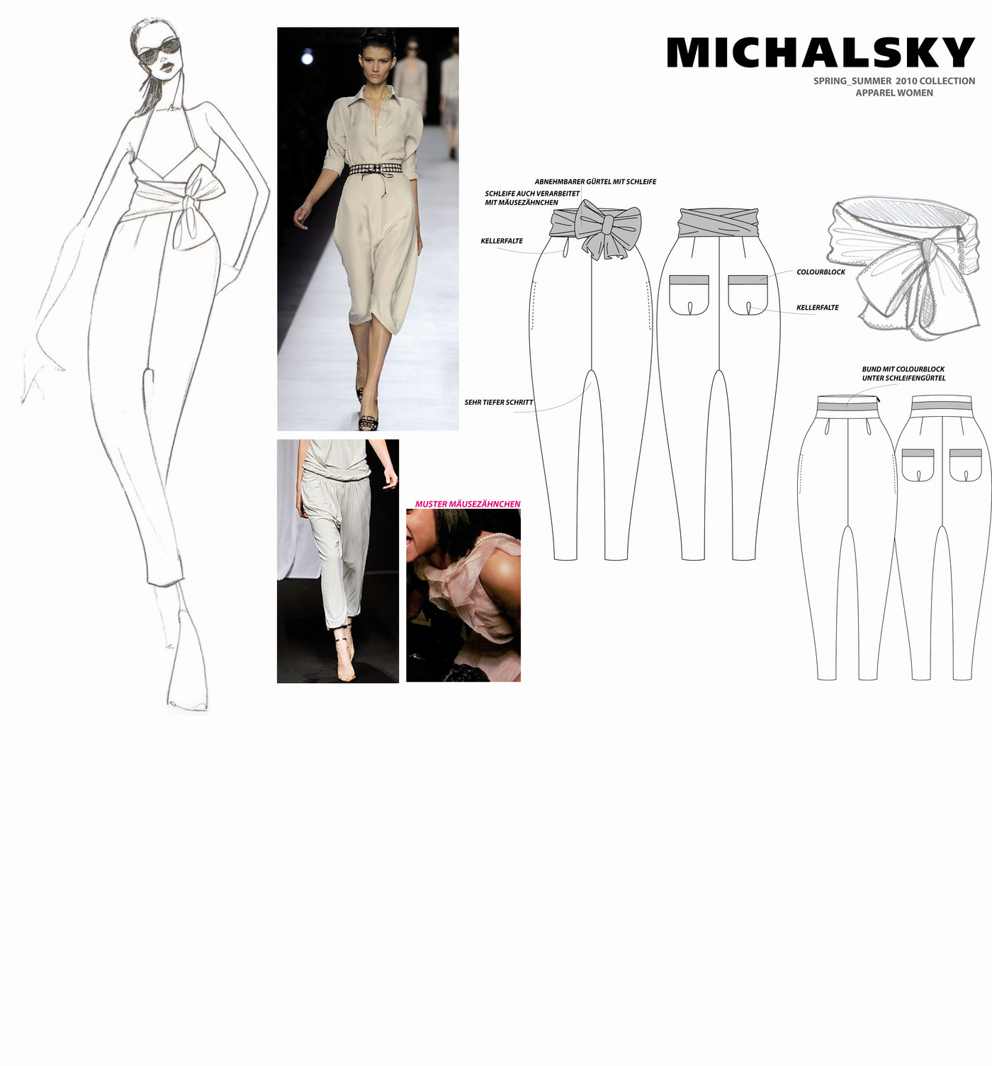 Fashion Design Worksheet