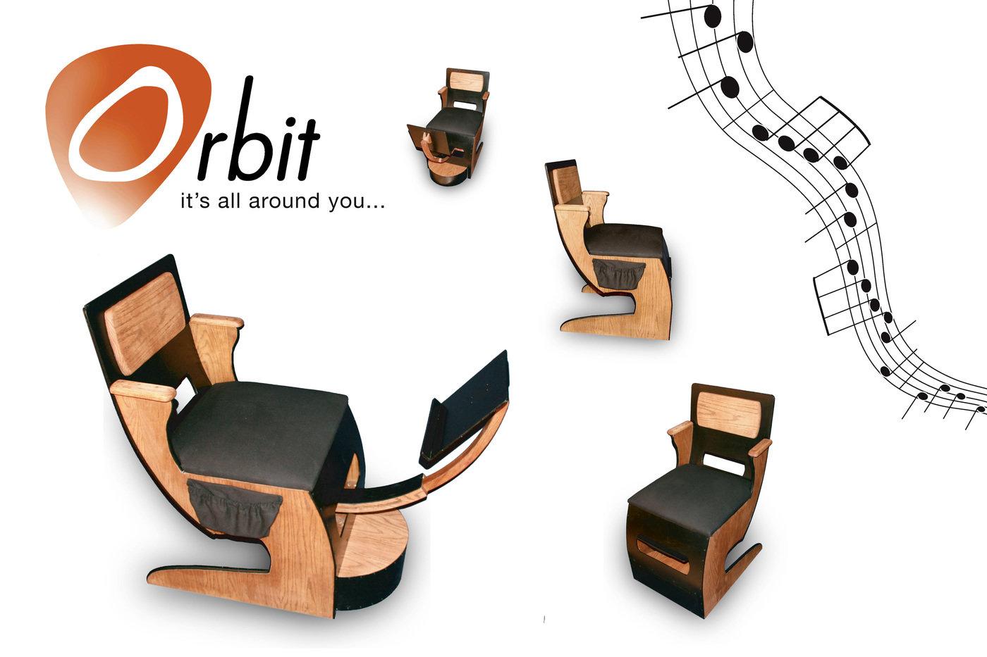 Guitar Chair By Robert Deutsch At