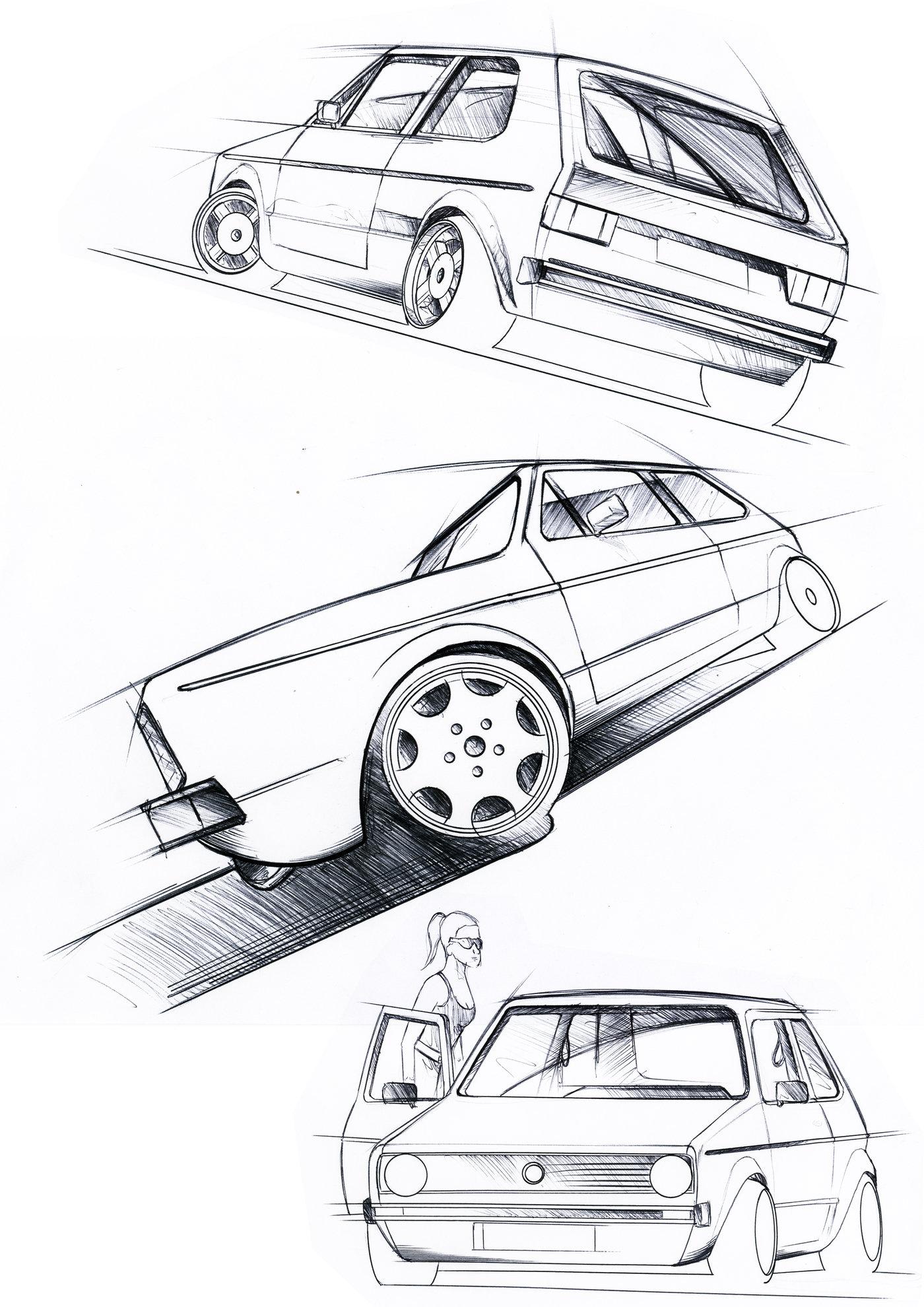 Automotive Illustration By John Bridge At Coroflot