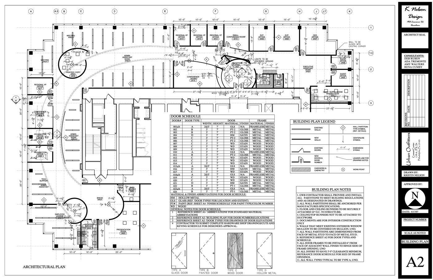 Construction Documents By Kristin M Nelson At