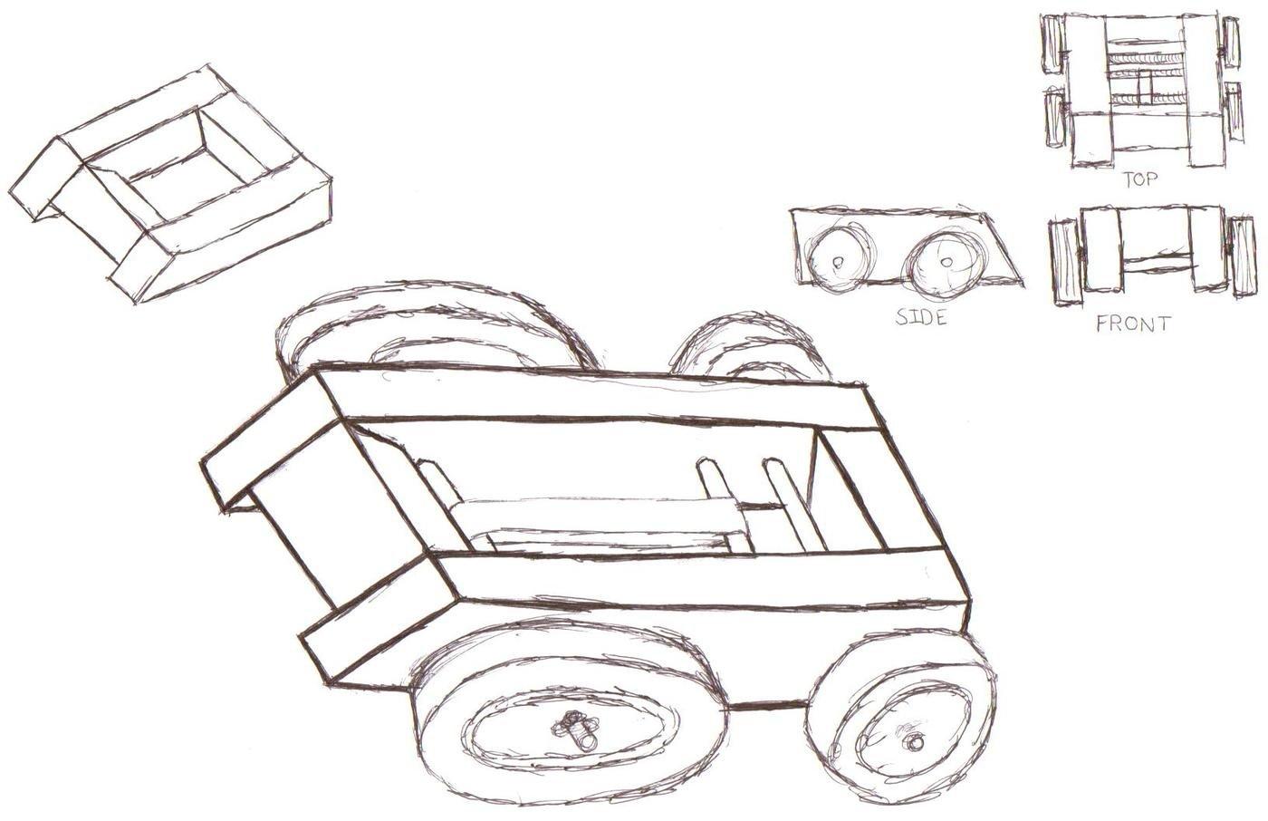 Kinetically Powered Car By James Noonan At Coroflot