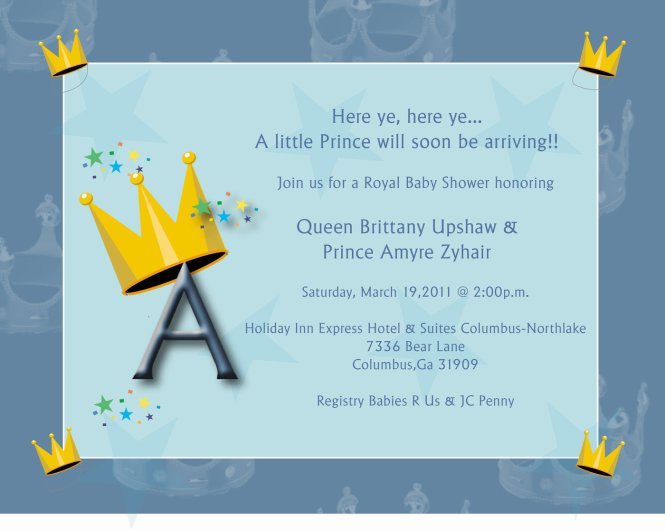 Baby Shower Invitations Thank You Cards By Jerrine Ingram