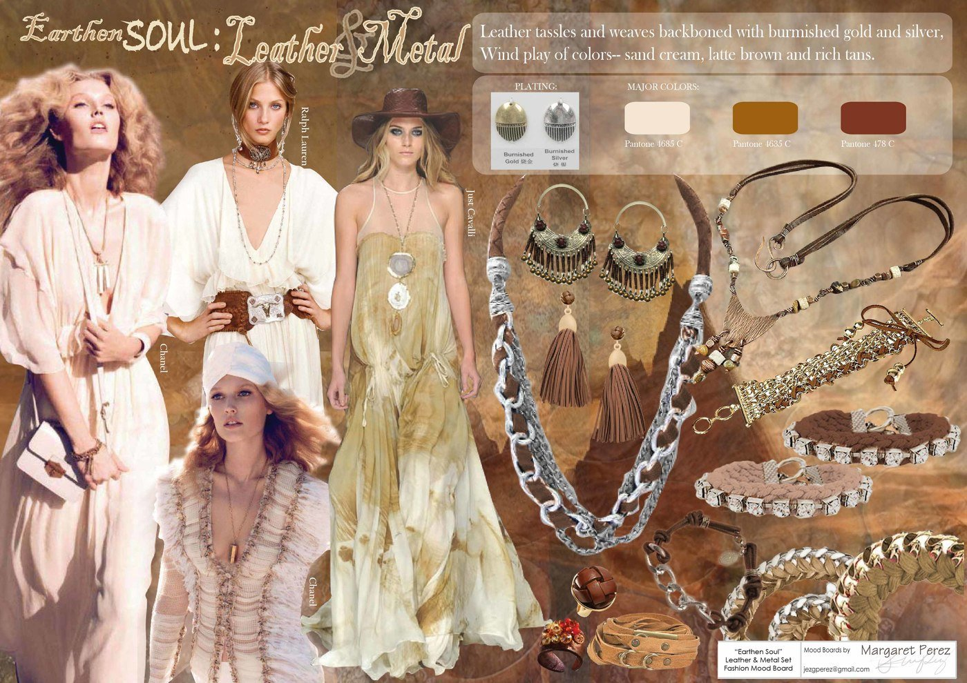 Mood Boards Fashion By Margaret Perez At