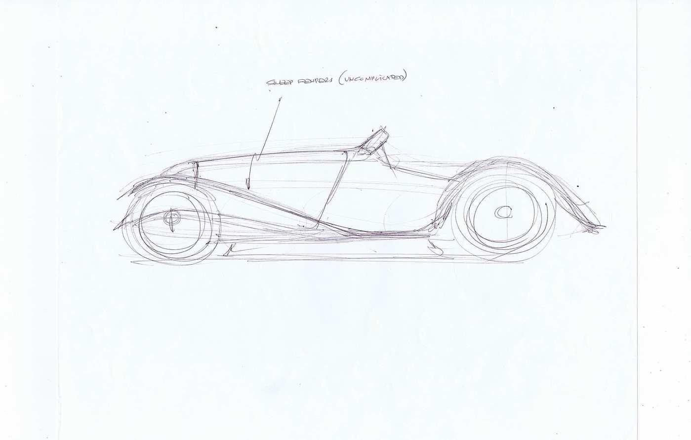Moal Waynecarini Roadster By Alberto Hernandez