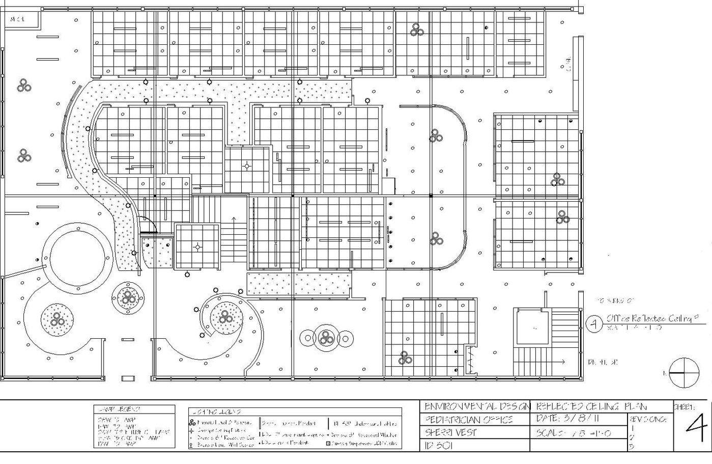 Pediatric Office Floor Plan By Sherri Vest At Coroflot