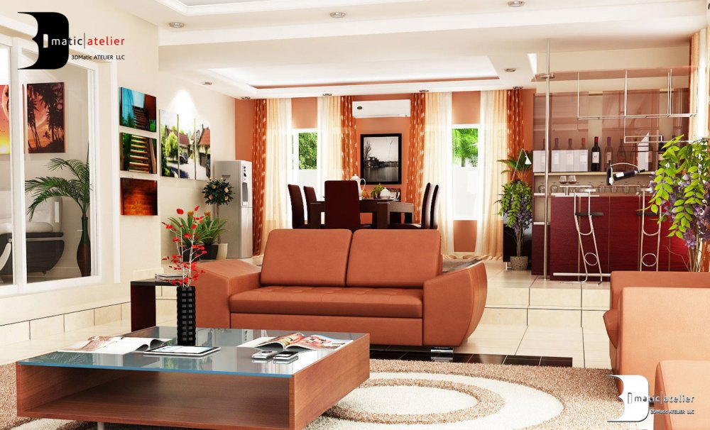 Interior Design, Lekki, Nigeria by Olamidun Akinde at Coroflot.com