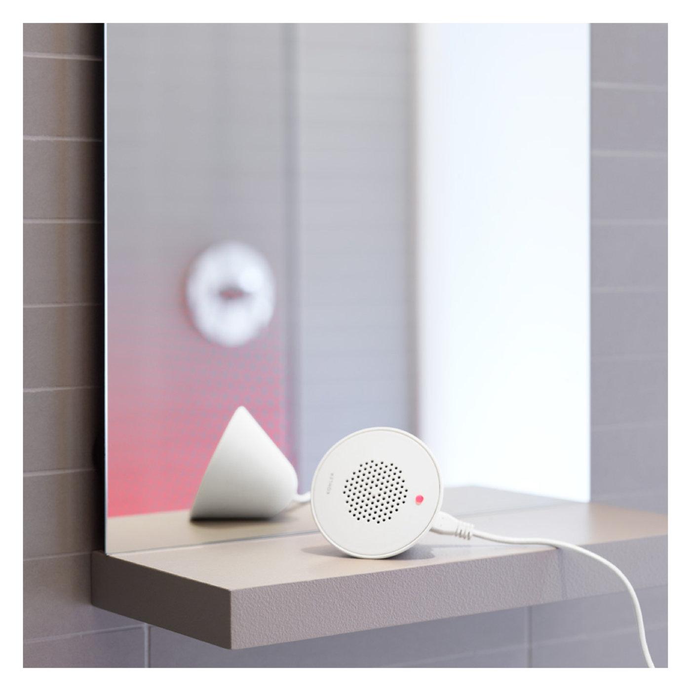 Kohler Moxie Showerhead With Integrated Bluetooth Speaker