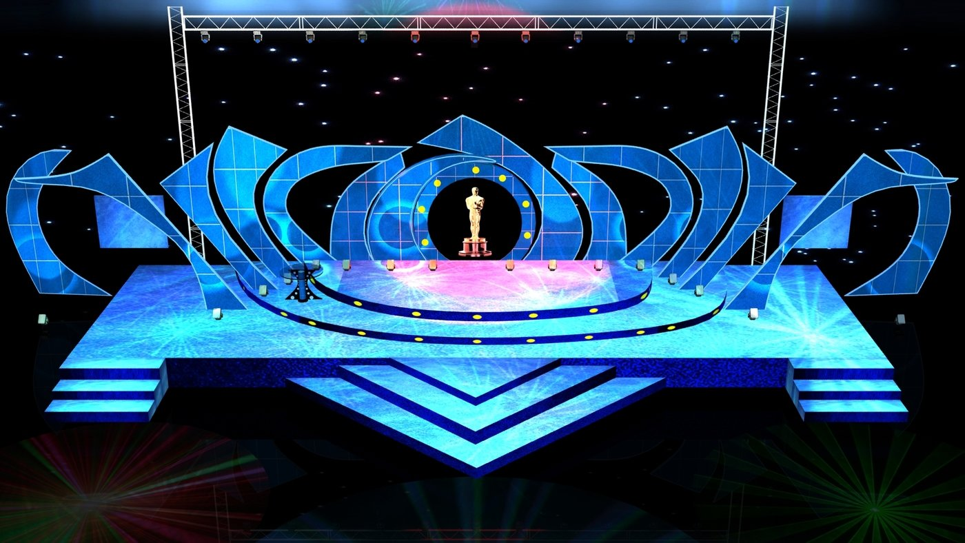 3D STAGESET DESIGNS By Javed Khan At