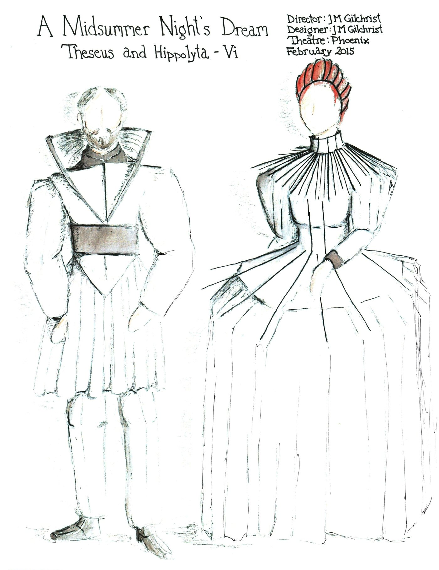 A Midsummer Night S Dream Costume Designs By Jacqueline