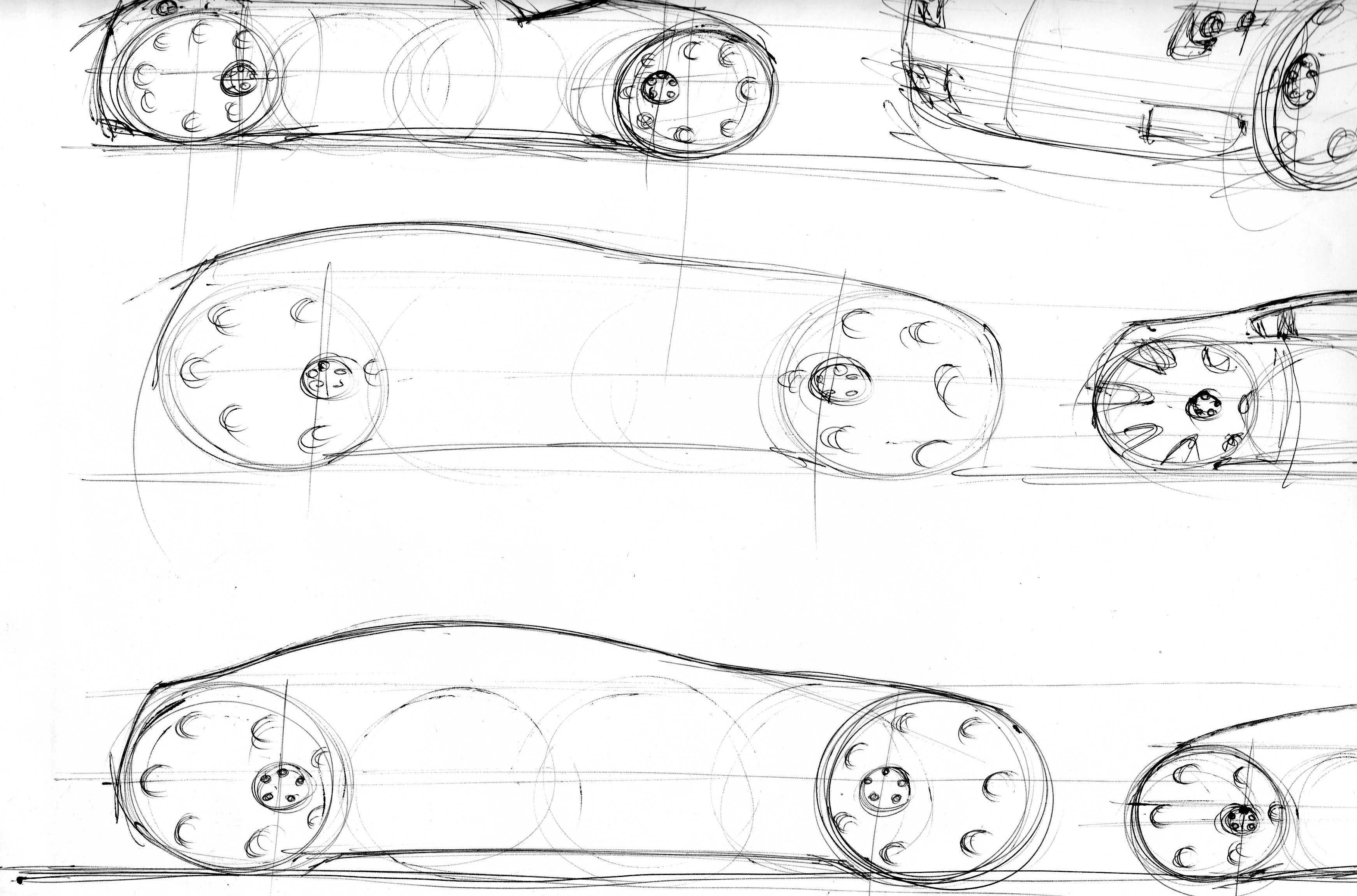 Bmw 4 Sketching