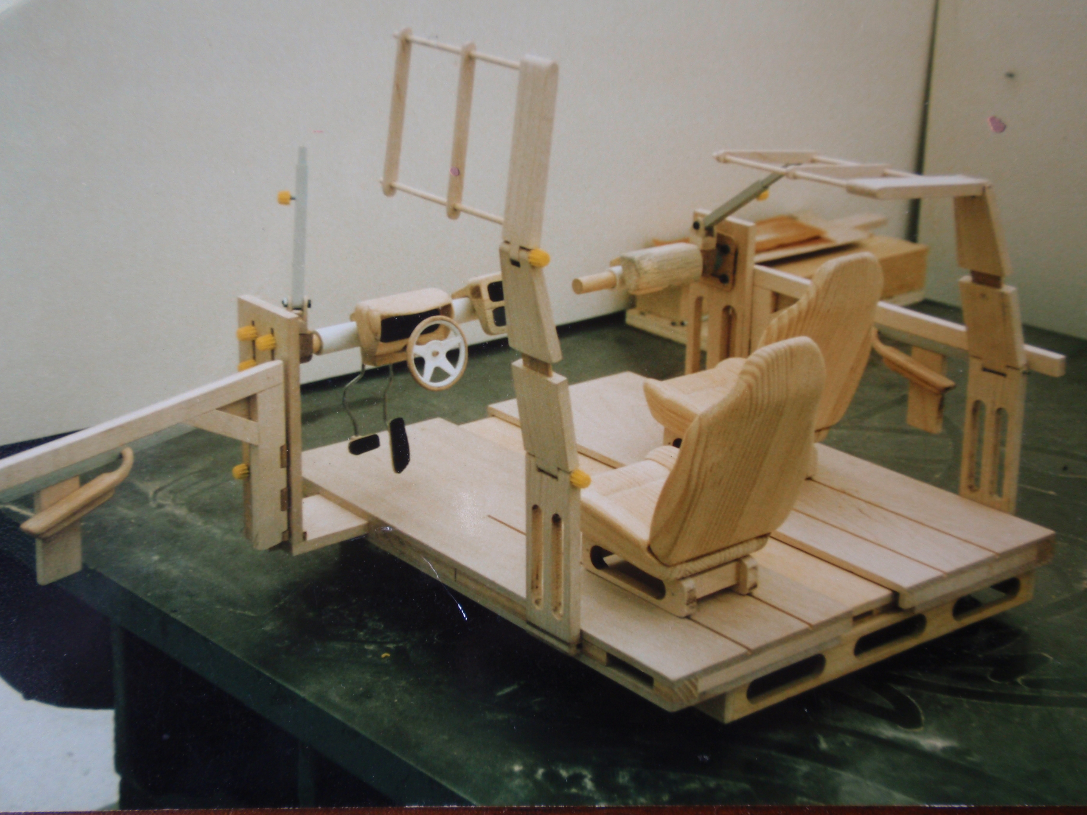 Quarter Scale Automotive Seating Buck Proposal By Todd