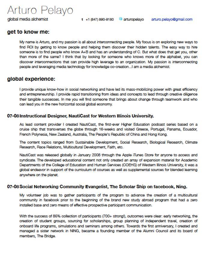 Bullet Point Resume. Great Resume Bullet Points Internship Cover