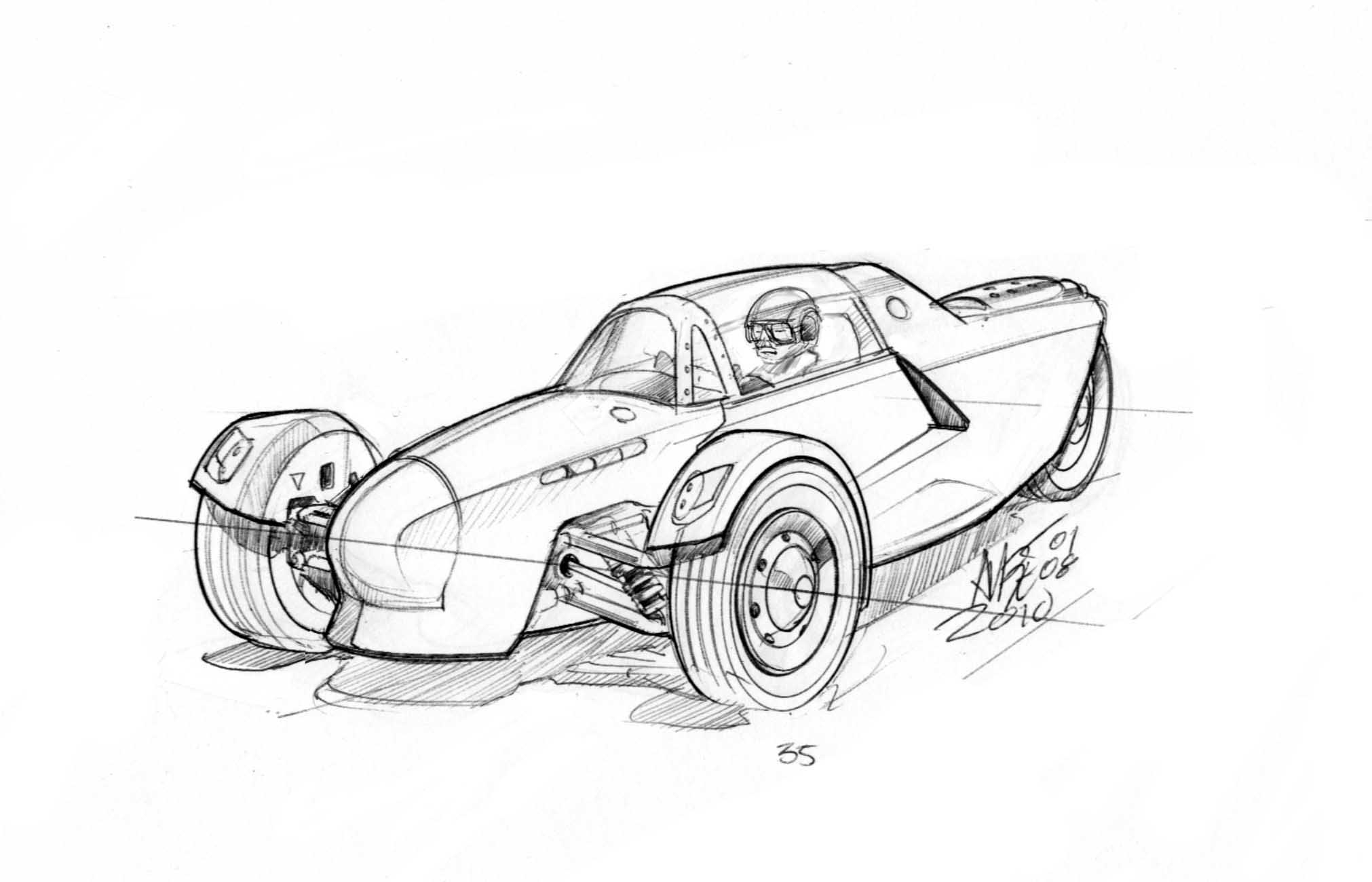 Motomobile Uci Mark Iii Spitfire By Martin Aube At