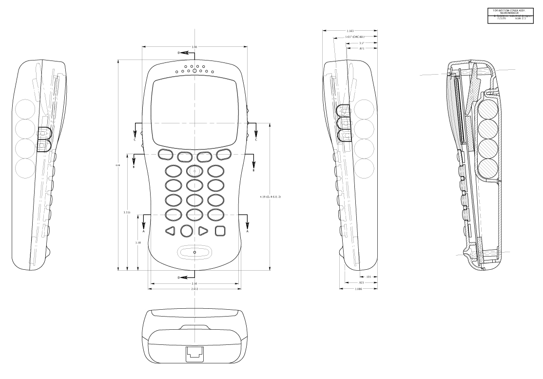 Cad Product Design Control Drawings By Bruce Goldstein At