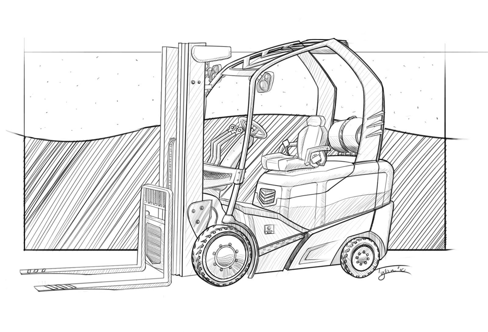 Lifted Chevy Truck Sketch Templates