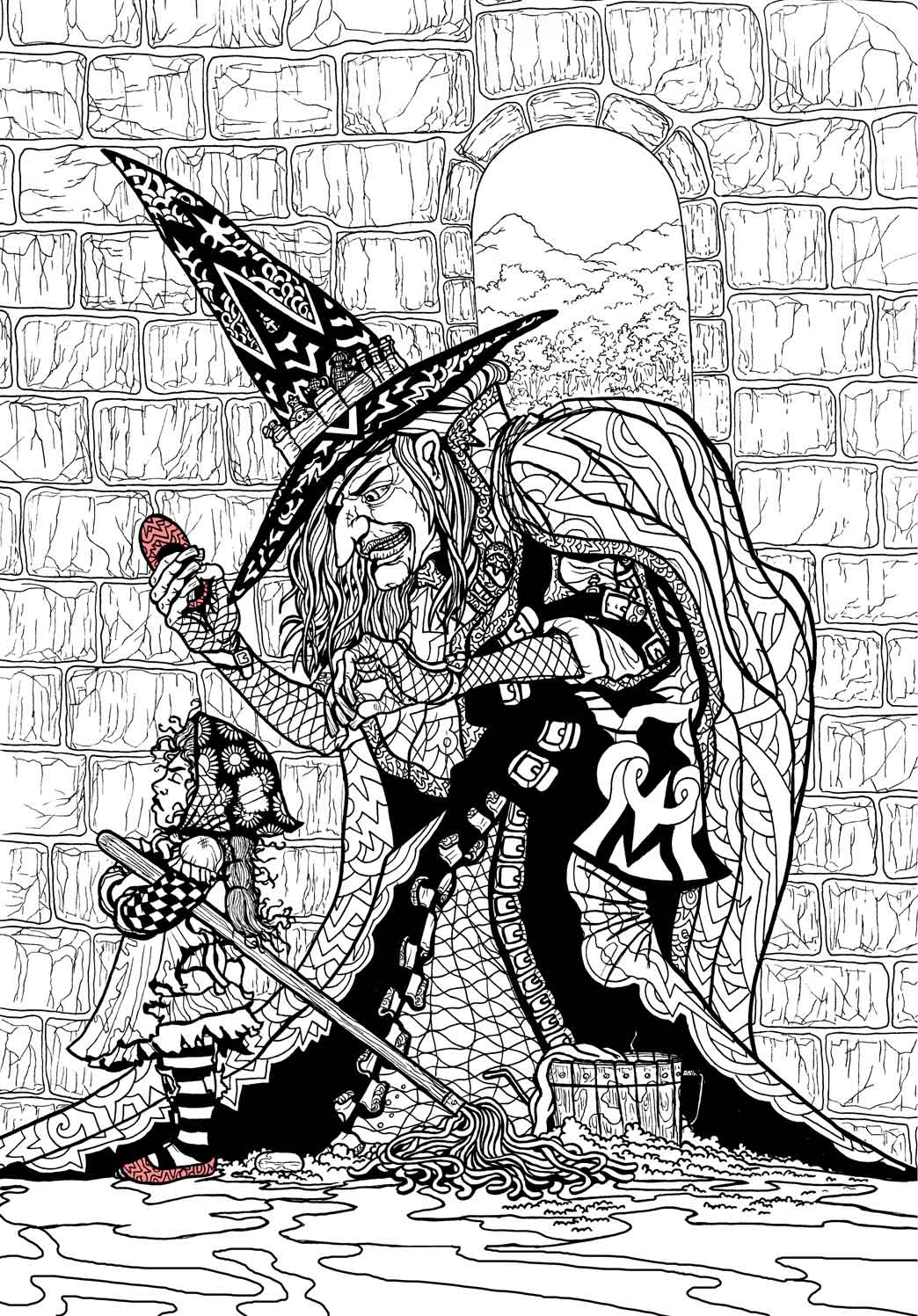 Wizard Of Oz Coloring Book By Ethan Mongin At Coroflot