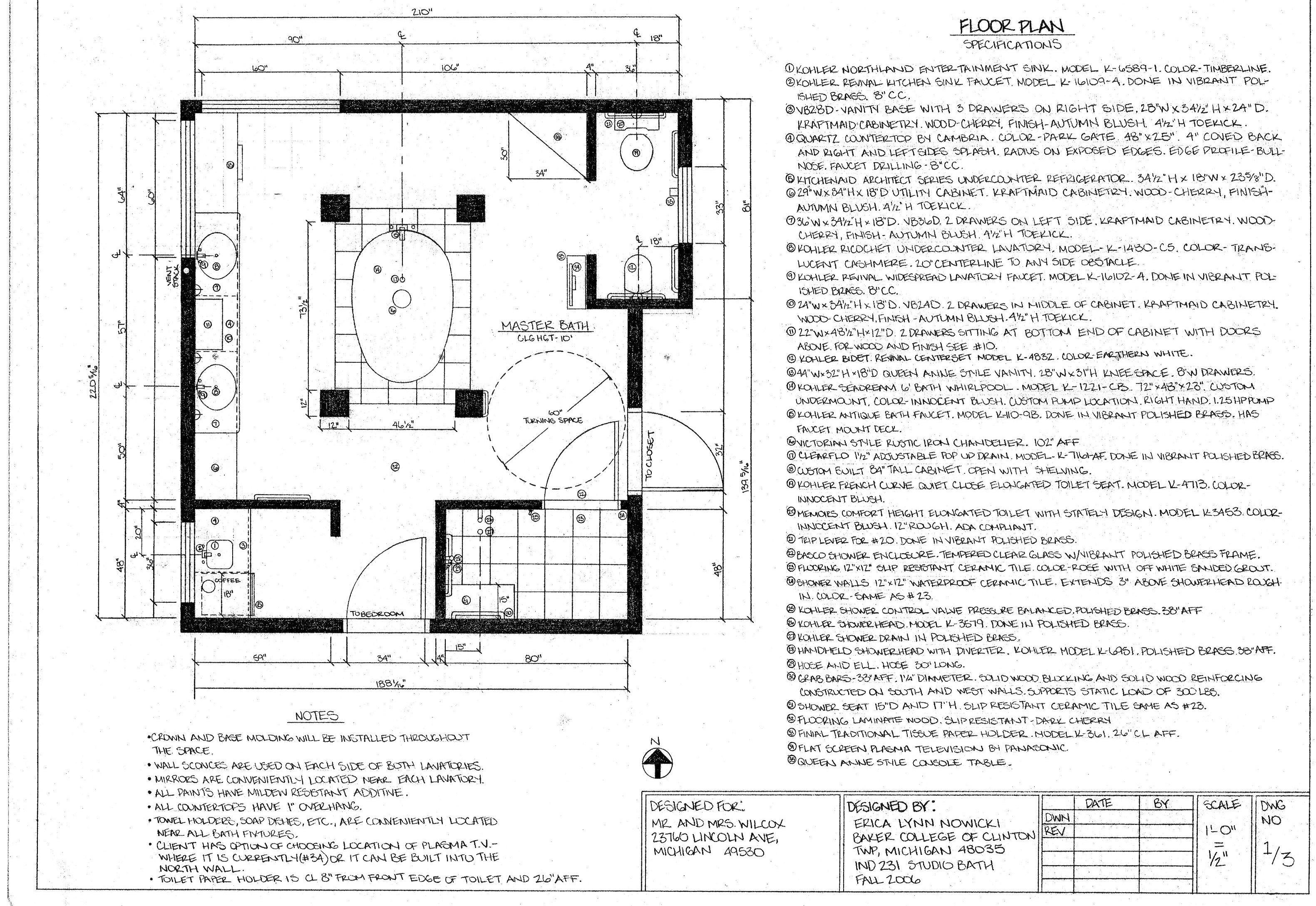 Bathroom Design By Erica Nowicki Snyder Leed Green