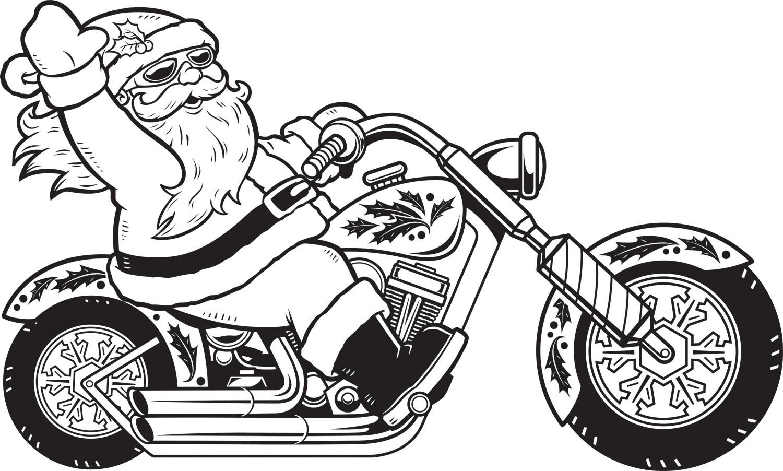 christmas santa claus coloring pages car pictures car pictures