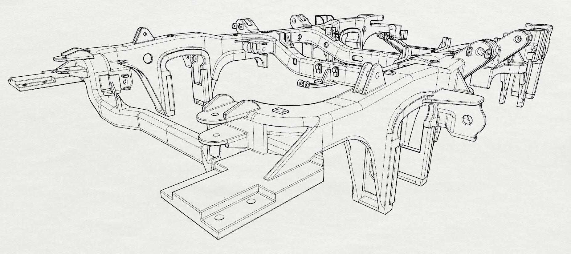 Train Bogie Reverse Engineering By Craig Burton At