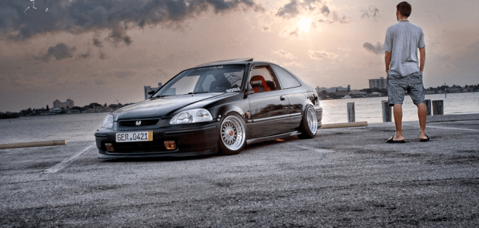 Adam Frandsen's Civic