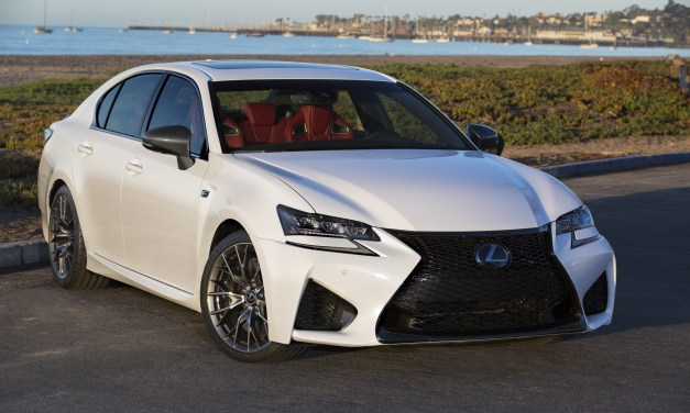 2016 Lexus GS-F Preview