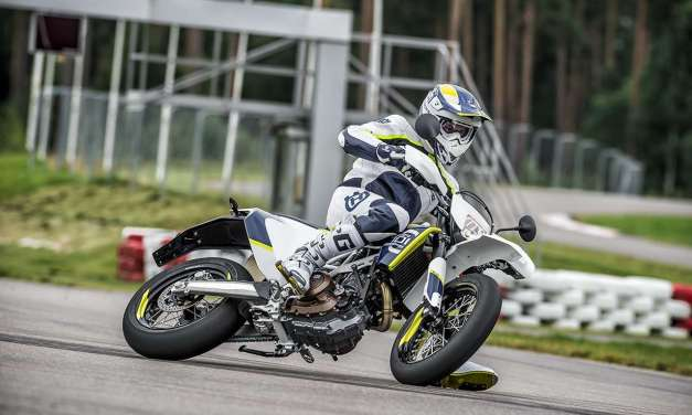 Slide It In | Husqvarna 701 Supermoto vs. Yamaha DT-07 Concept